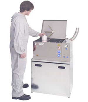 gun cleaning machine